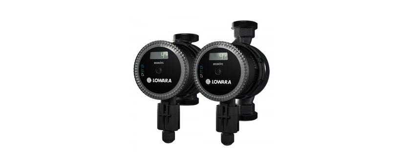 Ecocirc Premium – насосы Lowara с дополнительными опциями