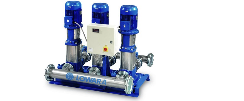 Новые насосные установки Lowara GXS20 для промышленных систем