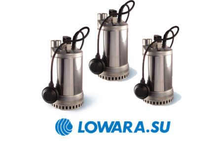 Насосное оборудование погружного типа Lowara DIWA представлено многофункциональными насосами, которые предназначены для перекачки чистых и слегка загрязненных составов. Это усовершенствованная […]