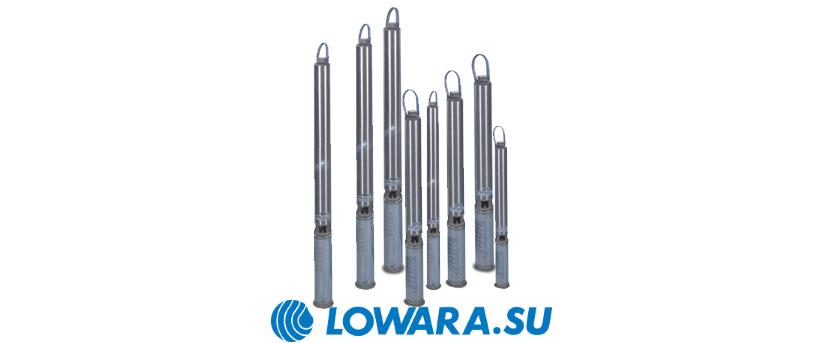 Погружные насосы Lowara e-GS