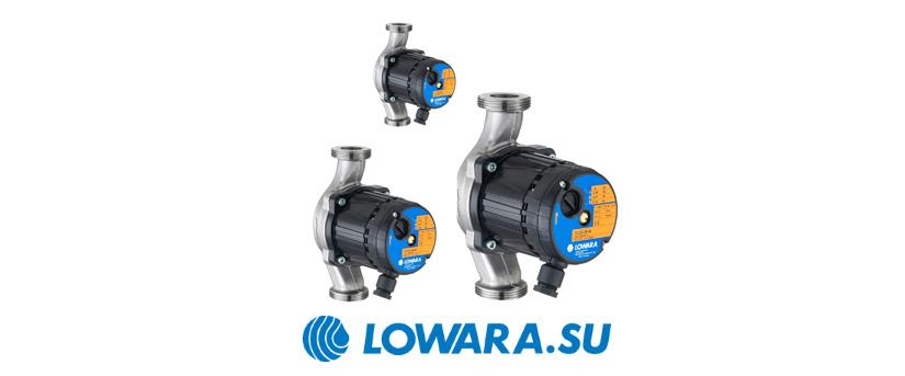 Циркуляционные насосы с мокрым ротором Lowara TLCH