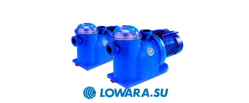 Самовсасывающие насосы для бассейнов Lowara AG, JEC