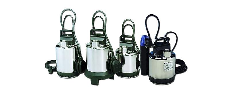 Новые дренажные насосы Lowara DOC для загрязненной воды