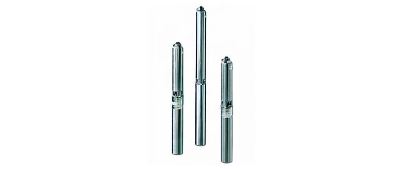Скважинные насосы Lowara GS для добычи воды из узких скважин