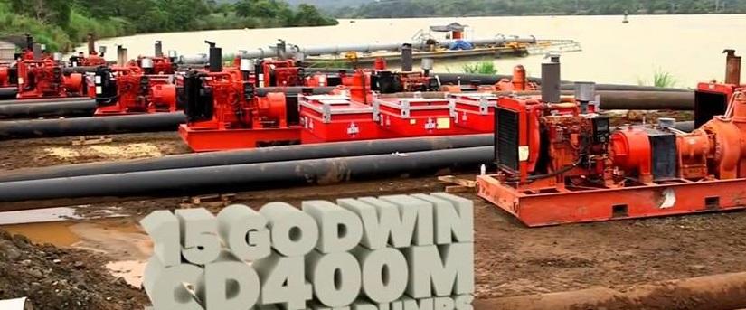 Насосы Lowara используются для работ по расширению Панамского канала