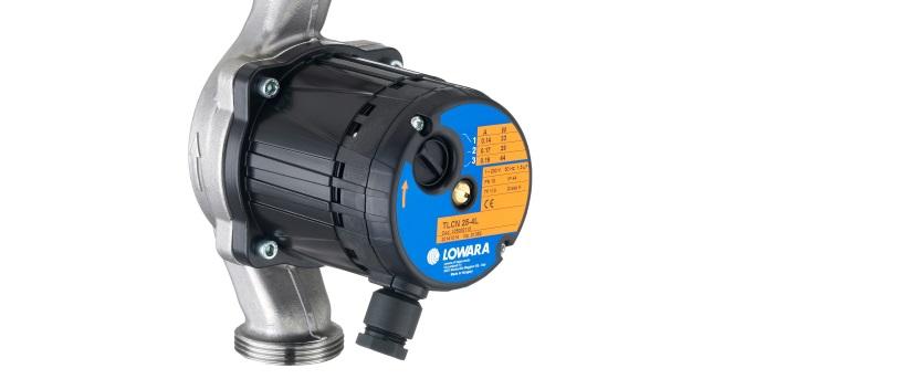 Новые циркуляционные насосы Lowara TLC с мокрым ротором