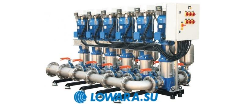 Насосные станции повышения давления Lowara GXS20, GMD20, GTKS20