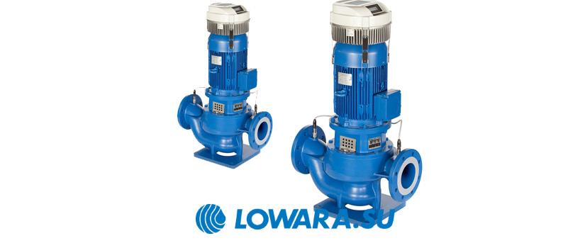 Циркуляционные насосы с двигателями IE3 Lowara e-LNE