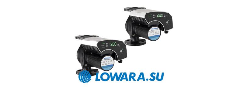 Циркуляционные насосы Lowara ecoric XL/XLplus