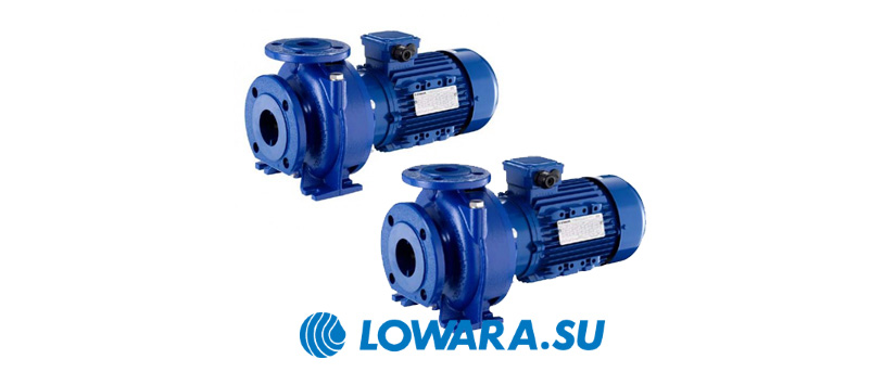 Центробежные насосы Lowara e-NSC