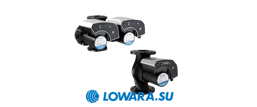 Циркуляционные насосы Lowara ecocirc XL\Xlplus