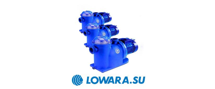 Одноступенчатые самовсасывающие насосы Lowara AG, JEC