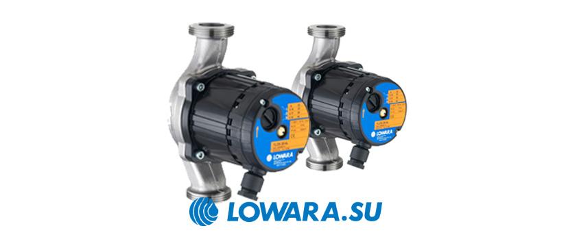 Циркуляционные насосы с мокрым ротором Lowara TLC