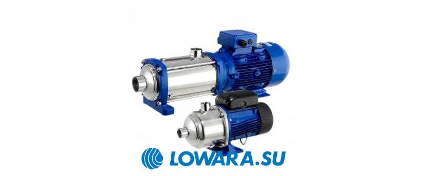 Многоступенчатые центробежные насосы Lowara e-HM