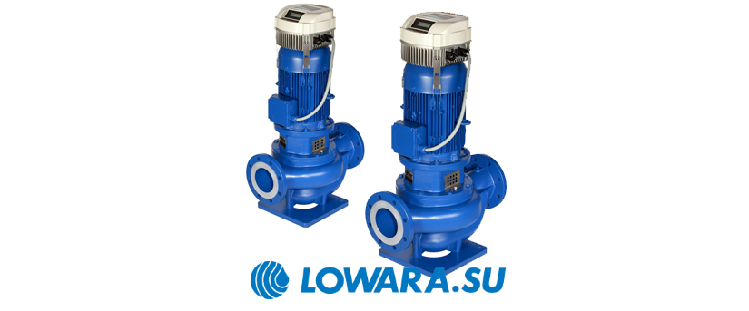 Центробежные циркуляционные насосы Lowara e-LNE