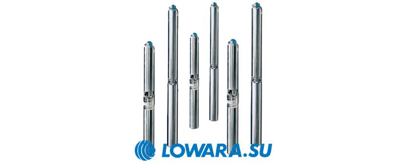 Скважинные насосы Lowara e-GS