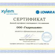 Насосы Lowara NSCE 80-160/22A